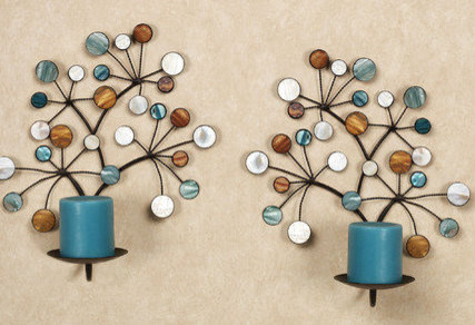 Decorative Wall Candle Holders candle wall decor | decorating ideas