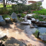 Landscape Stones As A Focal Point